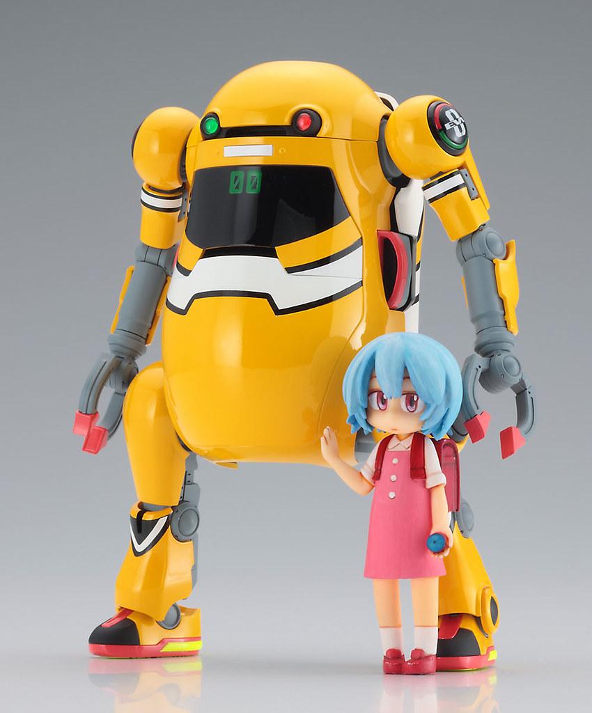 長谷川《新世紀福音戰士》x 20機動機器人WeGo EVA系列第一彈「零號機+綾波零」超萌始動!