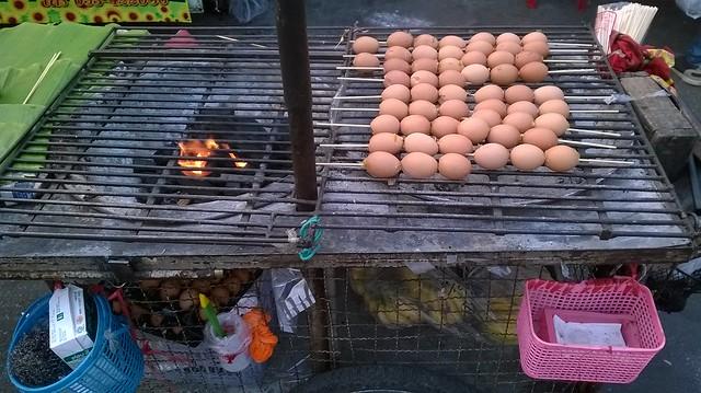 roasted eggs