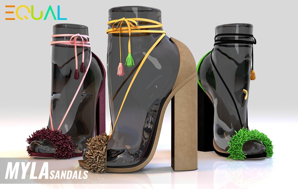 EQUAL – Myla sandals