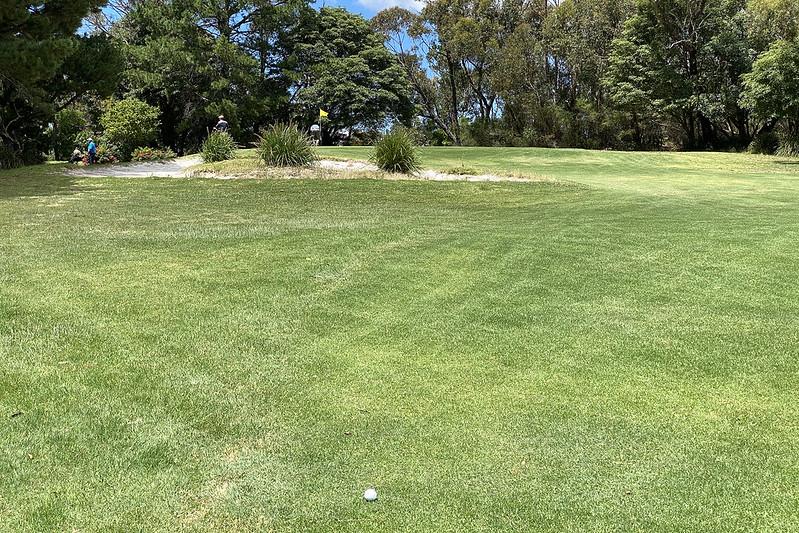 Hole 13, Boomerang Golf Course