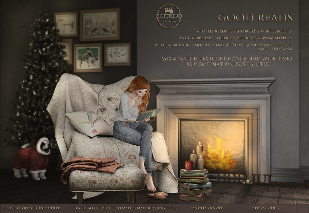 New! KOPFKINO – Good Reads for Gala Fair Christmas by Tres Chic