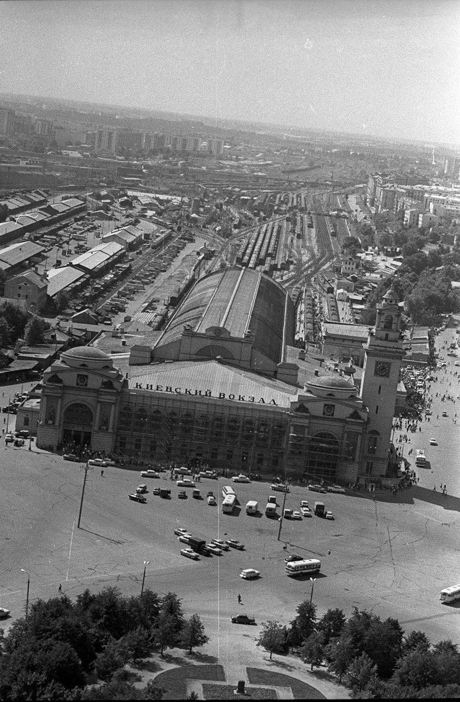 1960-е. Киевский вокзал