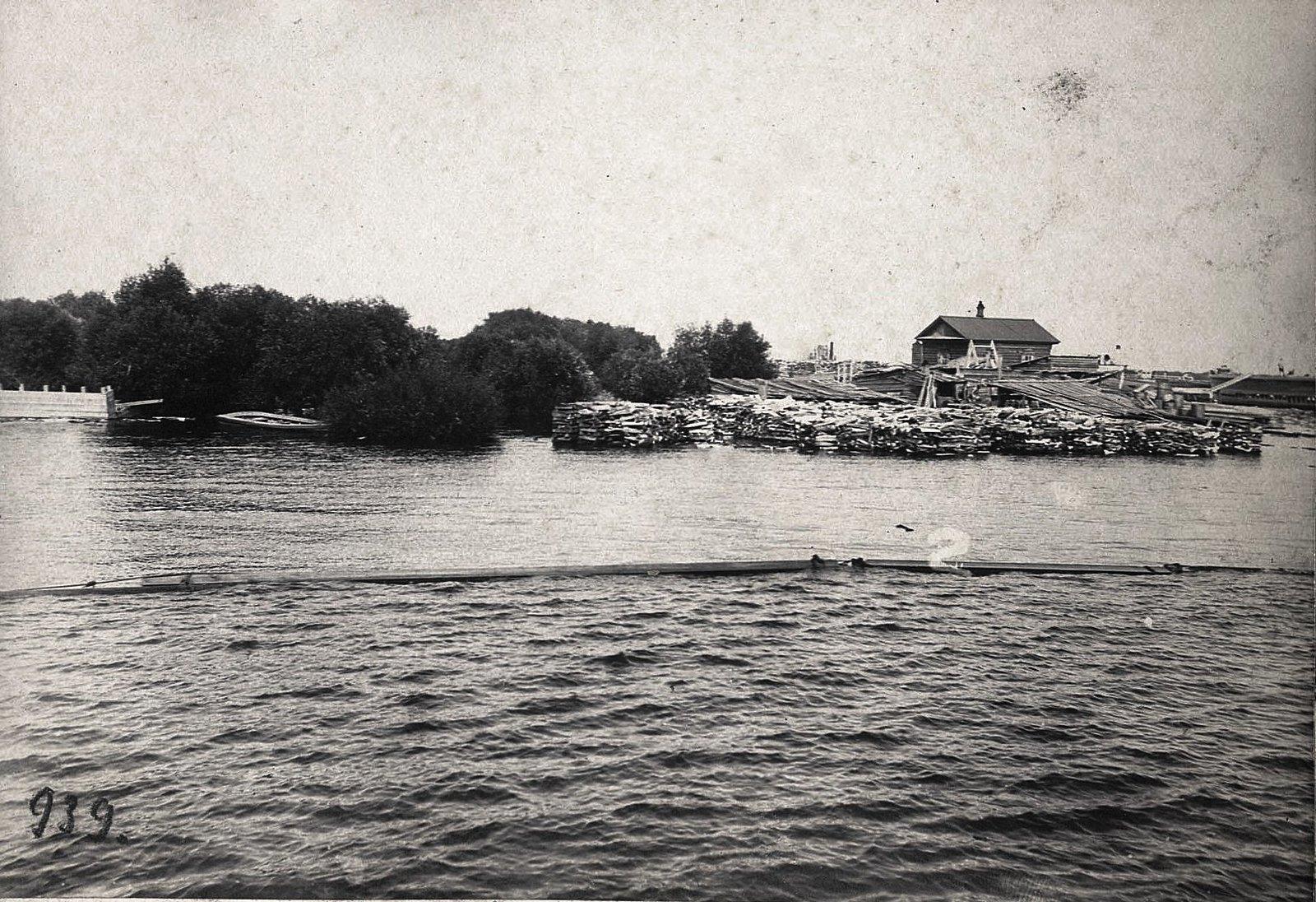 Вид на Затон с реки (2)