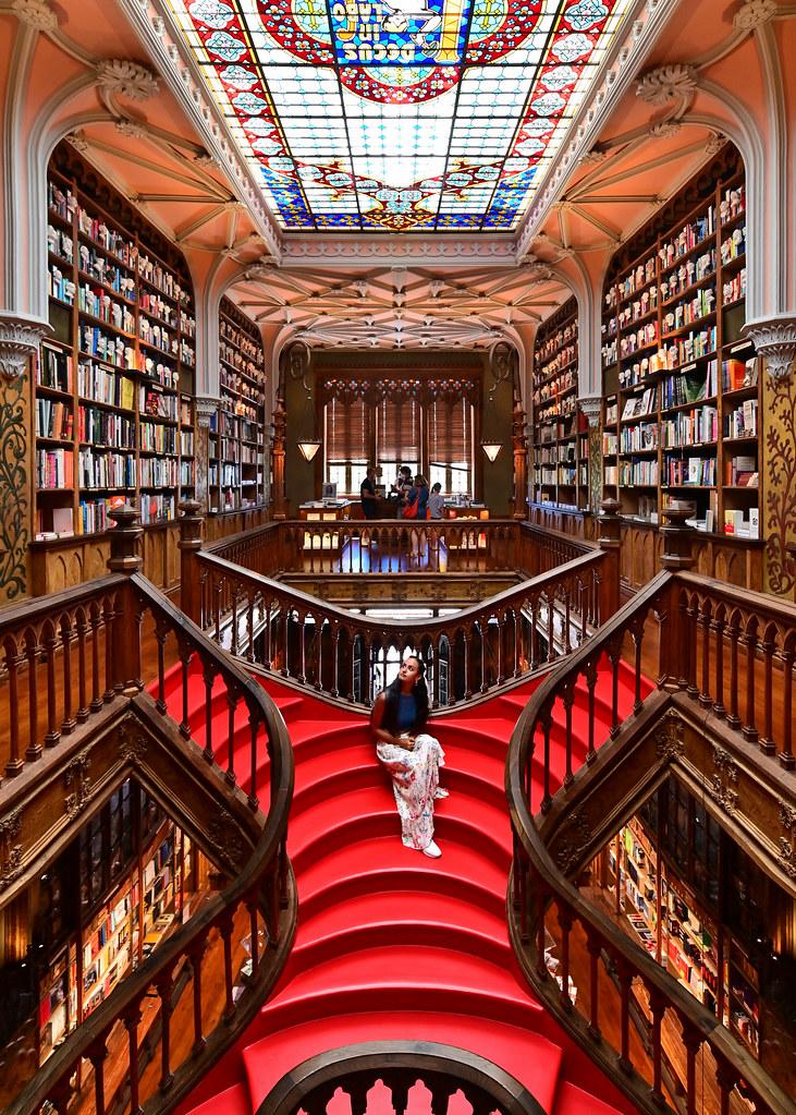 Librería Lello uno de los lugares que ver en Oporto
