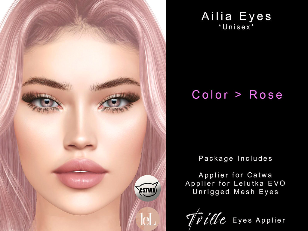 Tville – Ailia Eyes  *rose*