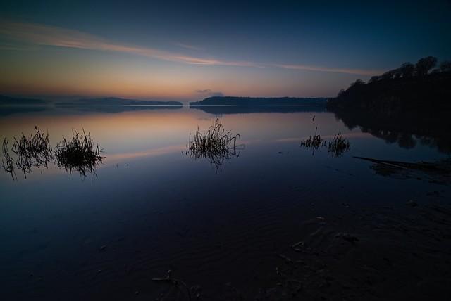 Lake in the cold season 01