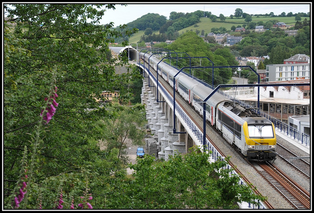 SNCB/NMBS 1357 Dolhain 12.06.2011