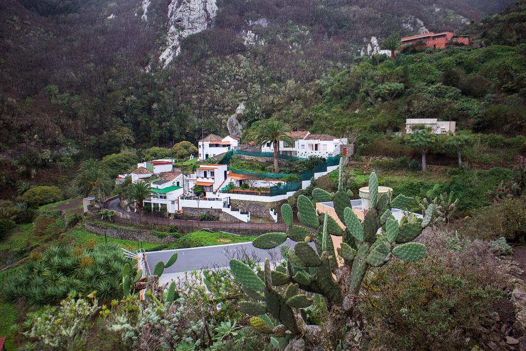 Pueblo de Chamorga en Tenerife