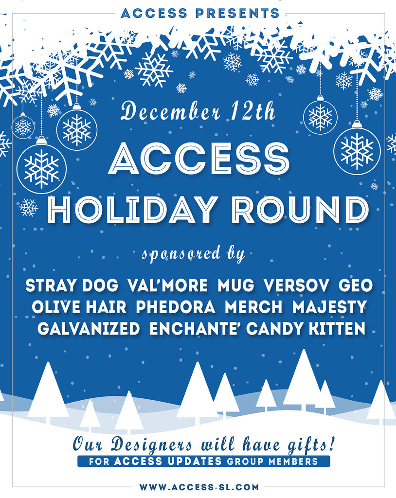 ACCESS DECEMBER  – Holiday Round