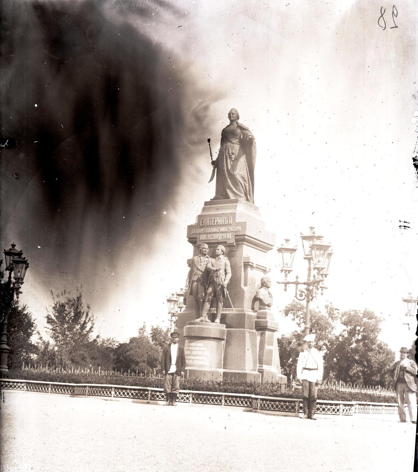 Симферополь. Памятник Екатерине II