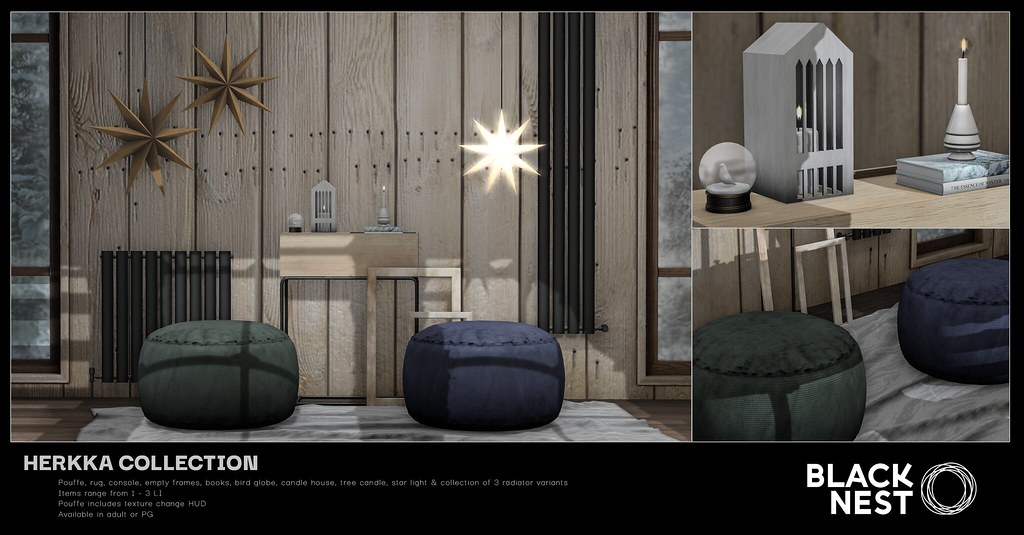 BLACK NEST | Herkka Collection | Collabor88