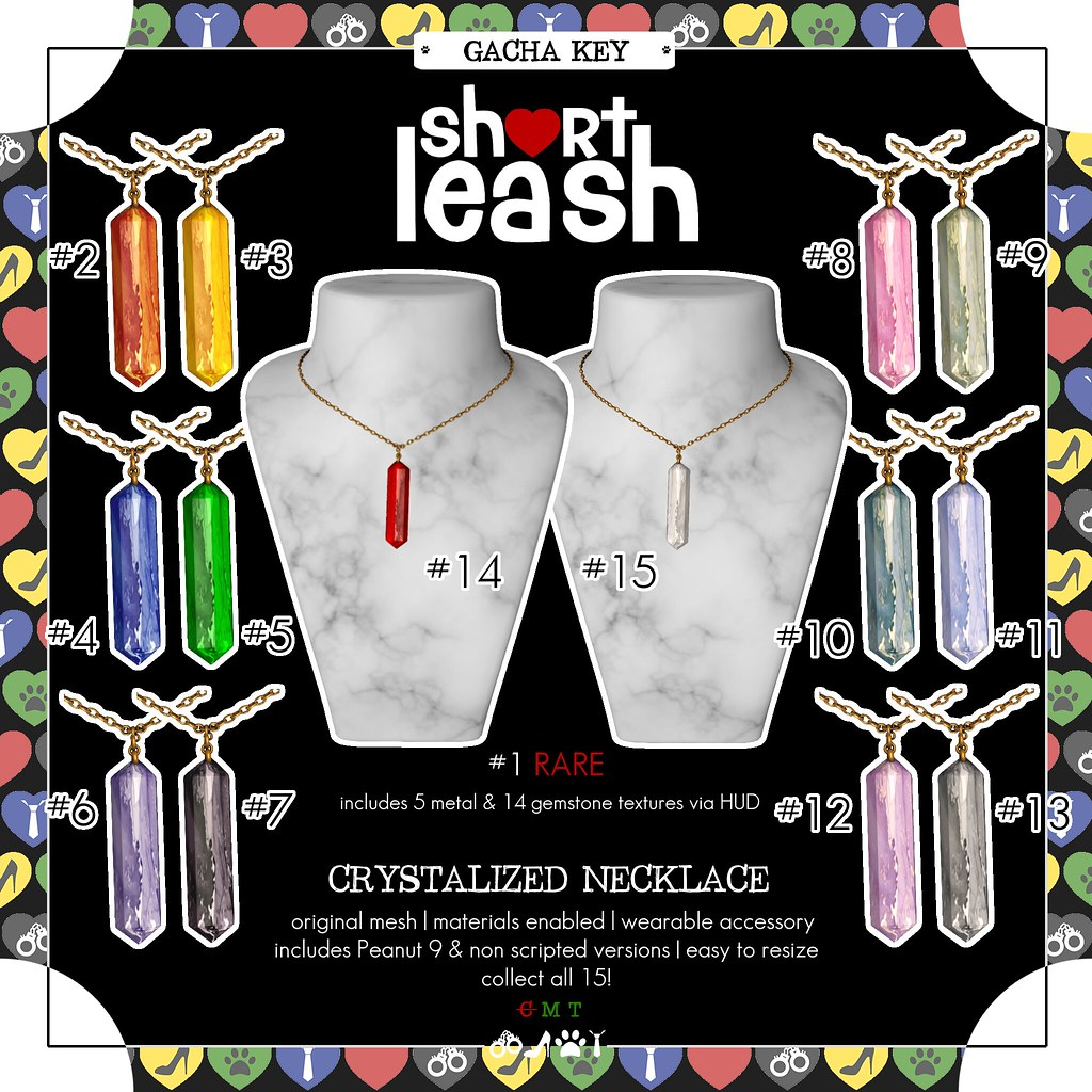 .:Short Leash:. Crystalized Necklace Gacha Key