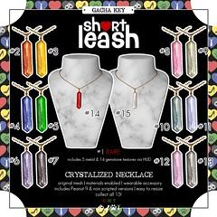 .:Short Leash:. Crystalized Necklace Gacha Key