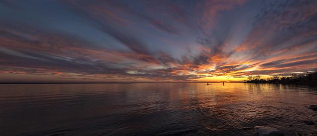 November Sunset Paddle