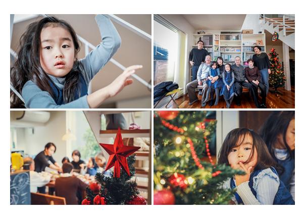 ホームパーティ― クリスマスツリー