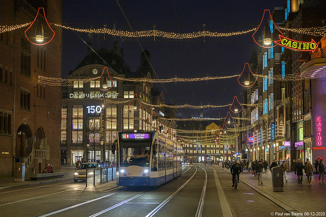 Amsterdam - GVB Combino 2049, 06-12-2020