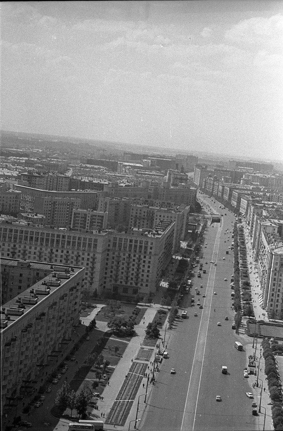 1960-е. Кутузовский проспект
