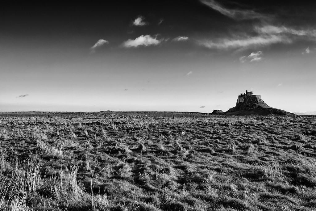 The Holy Island - Lindisfarne Castle, Northumberland, England