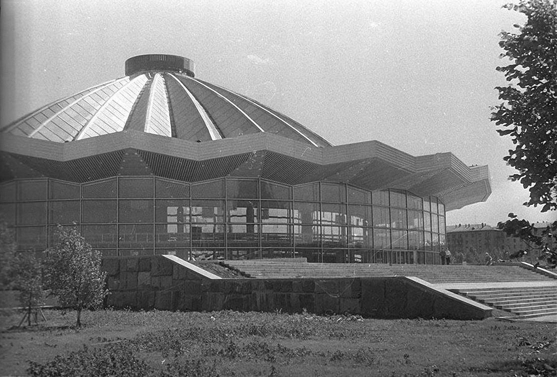1970-е. Новый цирк на Юго-Западе. Проспект Вернадского