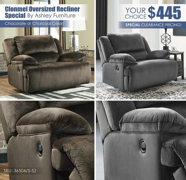 Clonmel Your Choice Recliner Clearance Special