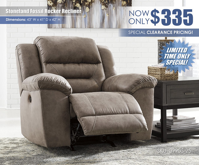 Stoneland Fossil Recliner Limited Special_39905-25_Update
