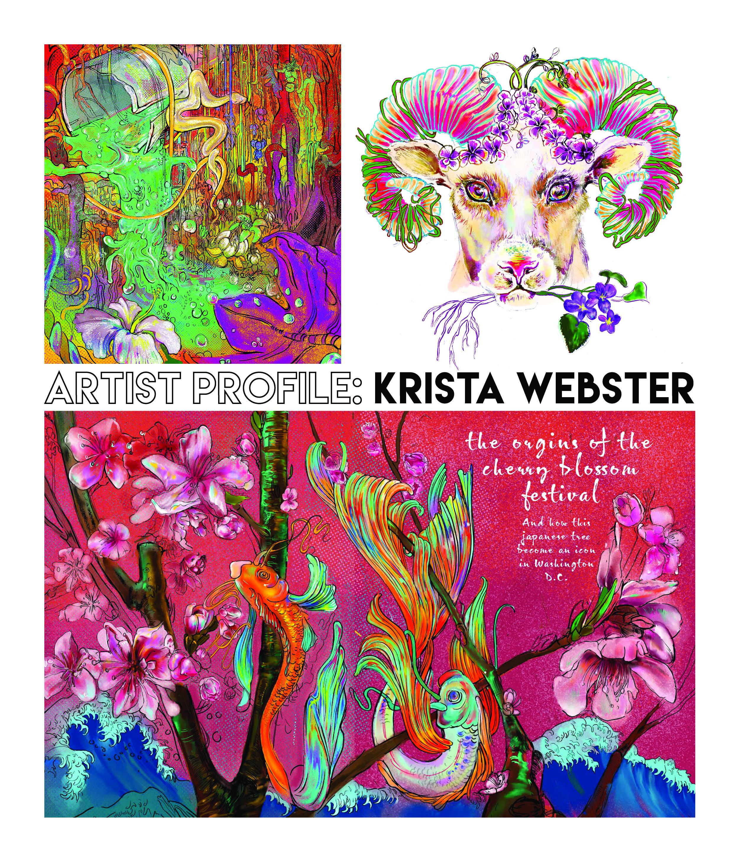 UD artist spotlight: Krista Webster