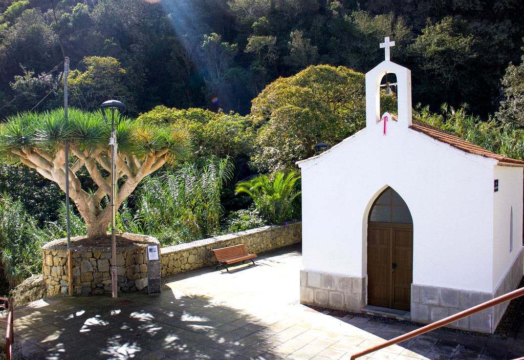 Ermita de la Inmaculada en Chamorga