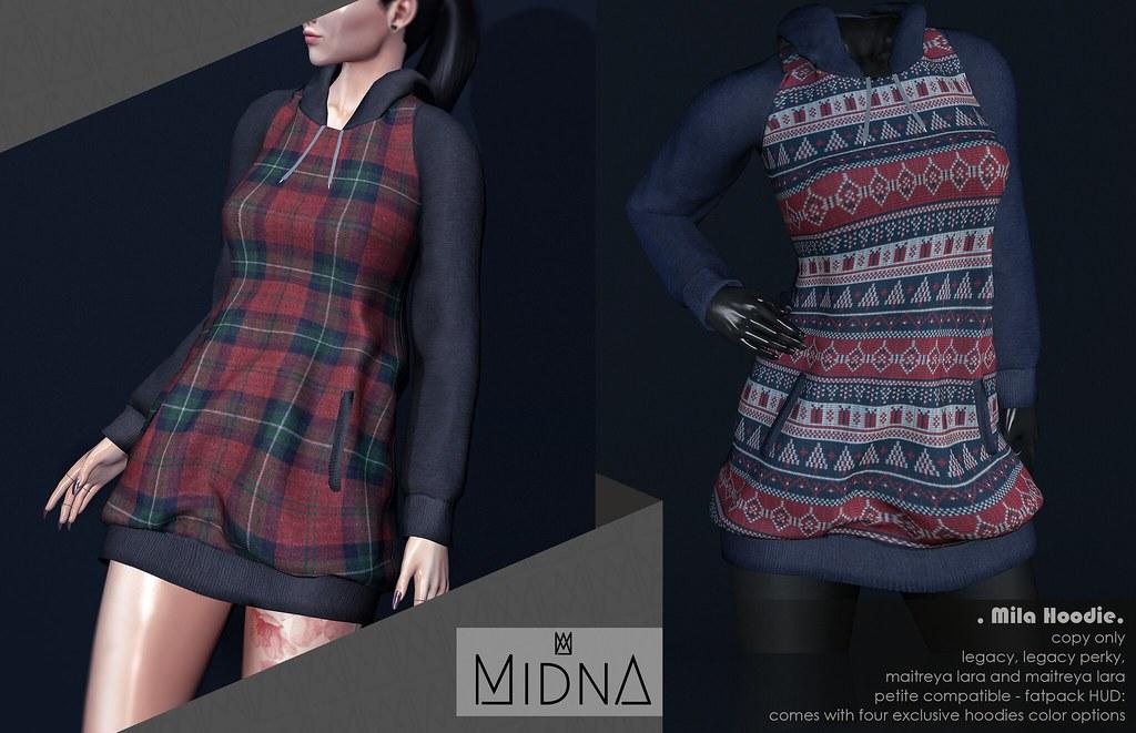 Midna – Mila Hoodie