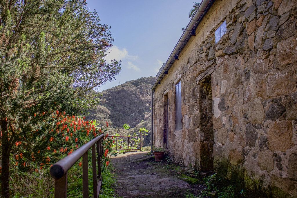 Casa tradicional abandonada en Chamorga