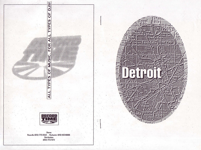 Mike Himes: Guide to the Detroit Underground Pamphlet