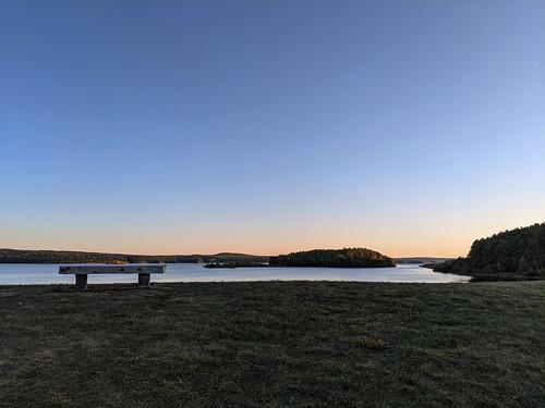 reservoir wachusettreservoir clintonma clinton massachusetts newengland lake sunset island
