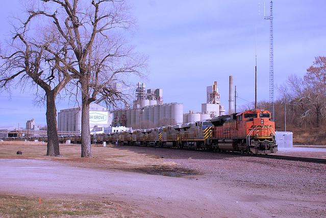BNSF 9079, Louisville, NE