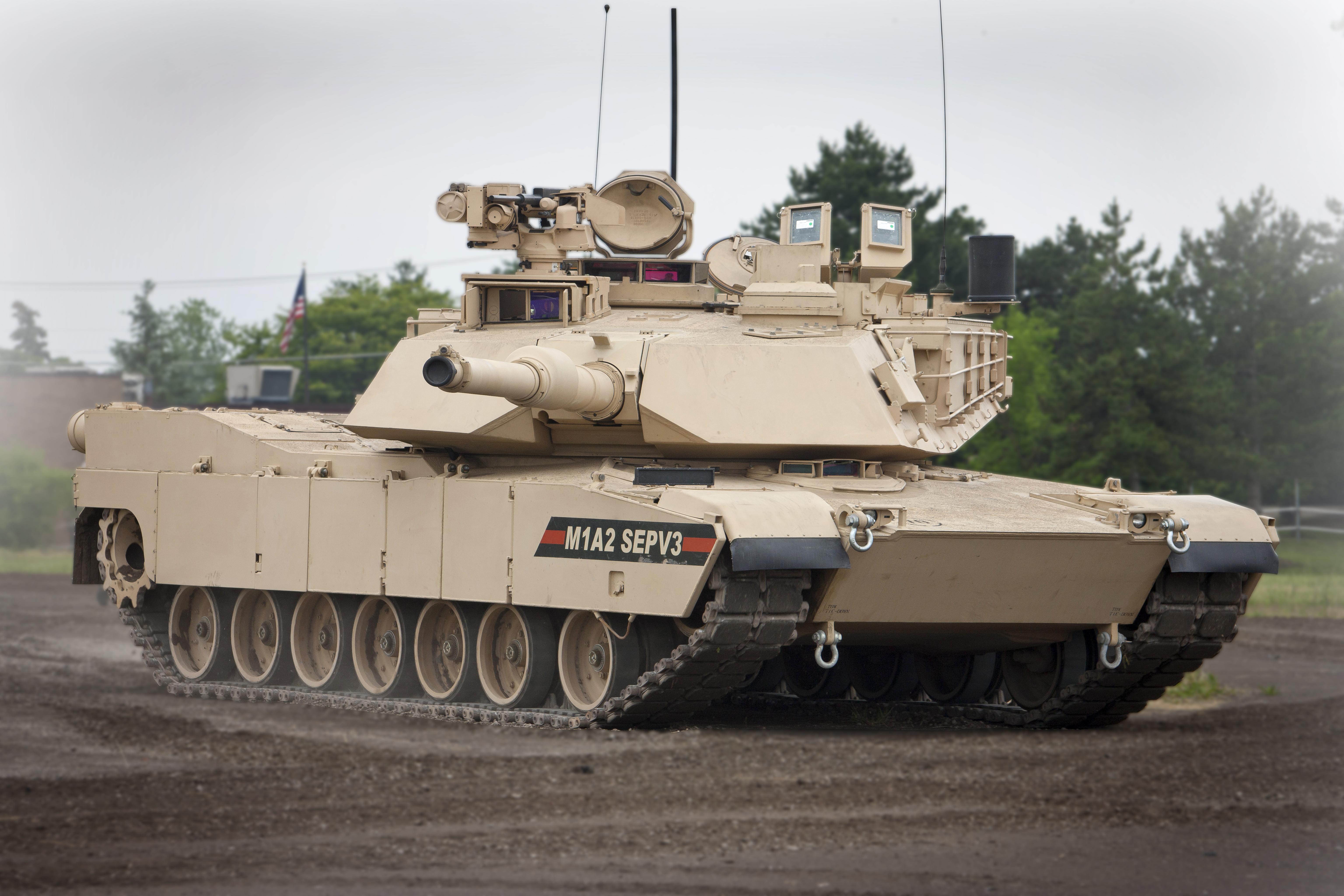 General Dynamics Land Systems M1A2 SEPv3