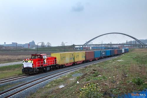 6512 db cargo belgium z44588 ligne 214 hermalle sous argenteau 8 decembre 2020 laurent joseph www wallorail be b