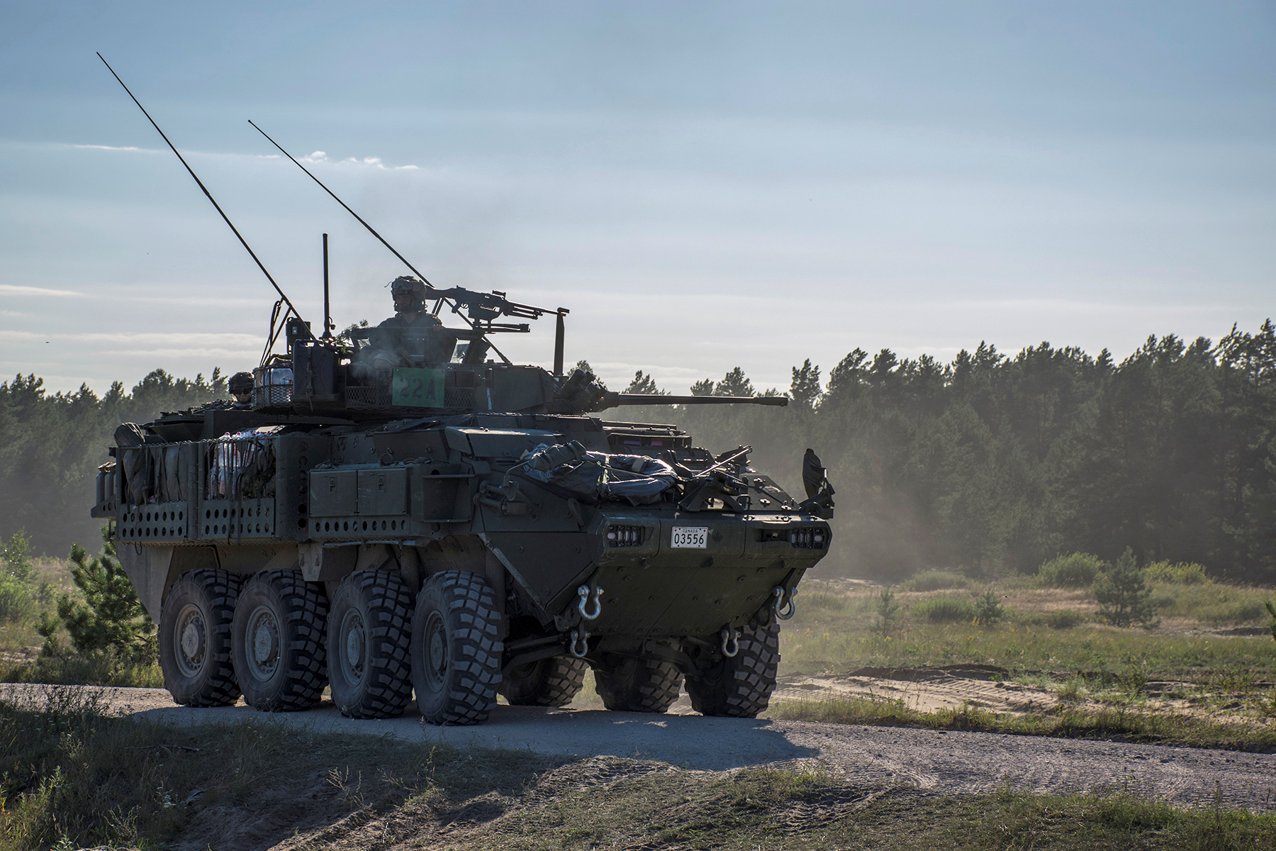 General Dynamics Land Systems Light Armoured Vehicle (LAV) 6.0