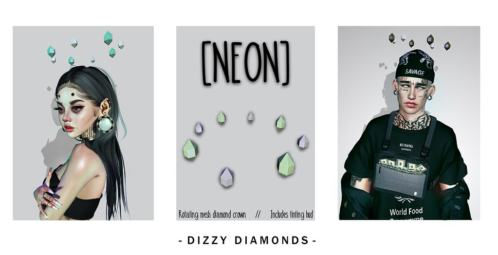 [NEON] – DIZZY DIAMONDS –