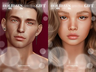 LeLUTKA Group Gift Heads | by Lelutka SL