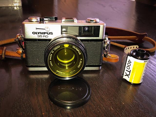 Olympus 35 RD rangefinder 35 mm camera
