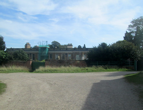 Calke Abbey From Stables