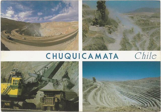 CHUQUICAMATA   CALAMA   CHILE