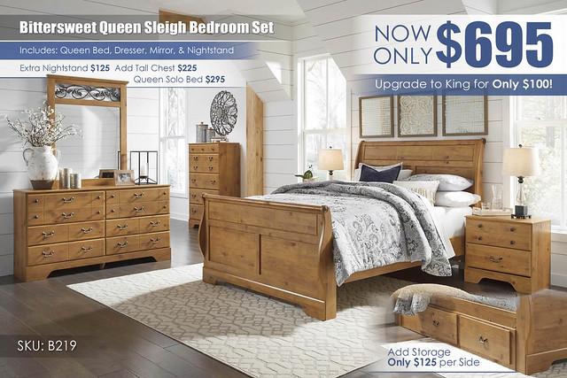 Bittersweet Sleigh Bedroom Set_B219_newer
