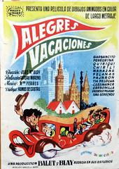 CARTELERAS DE CINE. Primera película de dibujos animados española. 7