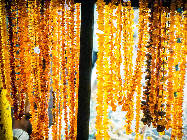 amber beads & baubles