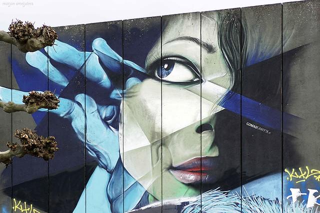 Street Art Arnhem, The Netherlands (GOMAD (Marcus Debie))