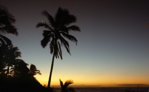 Venus seen from Kauai at dawn