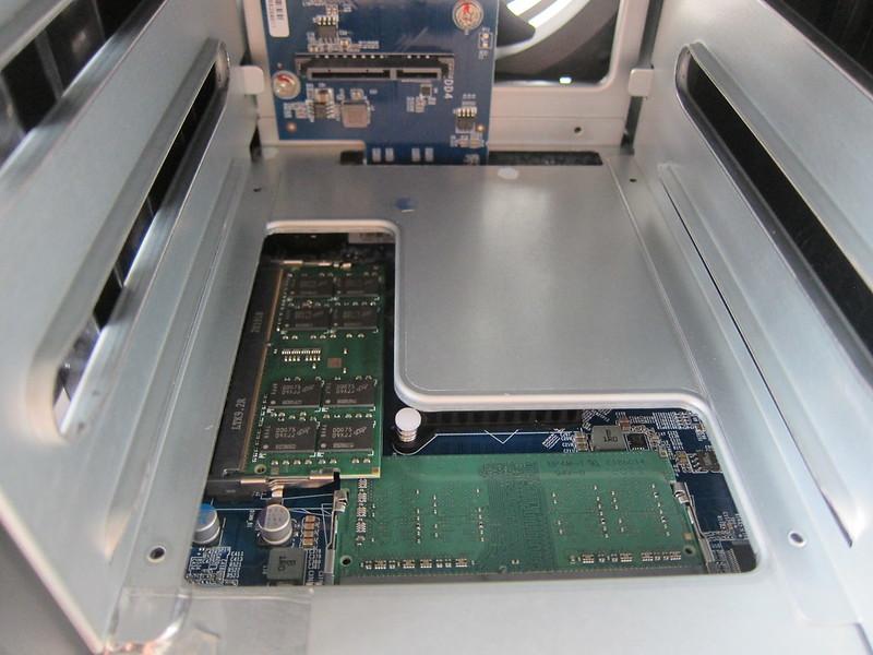 QNAP TS-453D Ram Slot - Installed