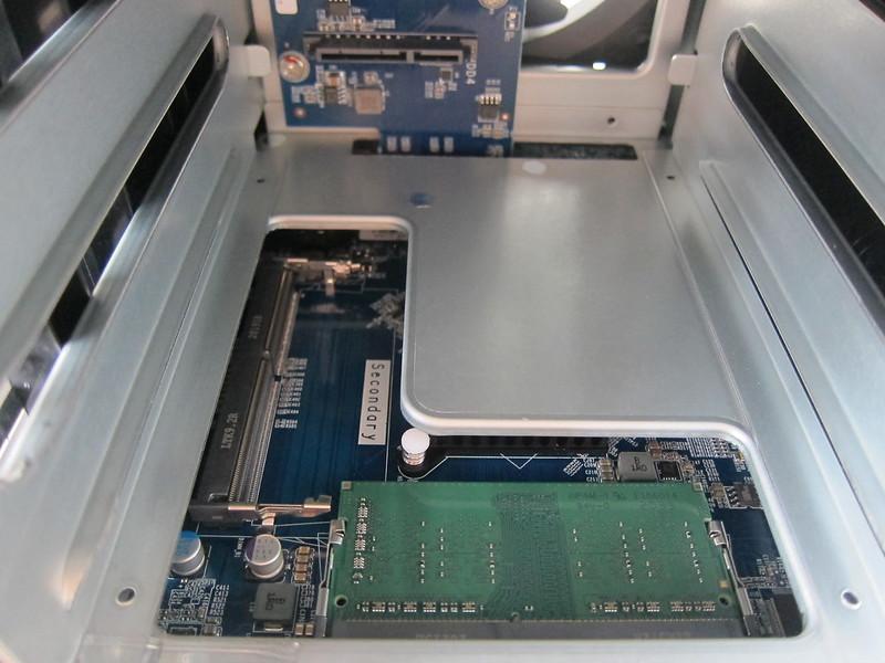 QNAP TS-453D Ram Slot