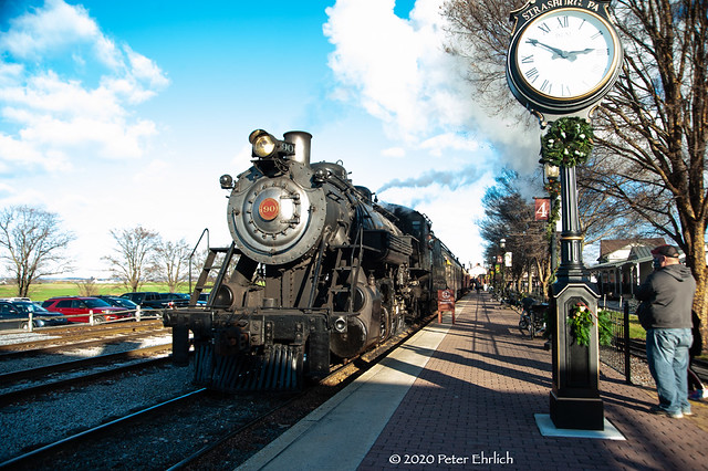 STRASBURG RAIL ROAD--90 arr Strasburg. 2 of 2