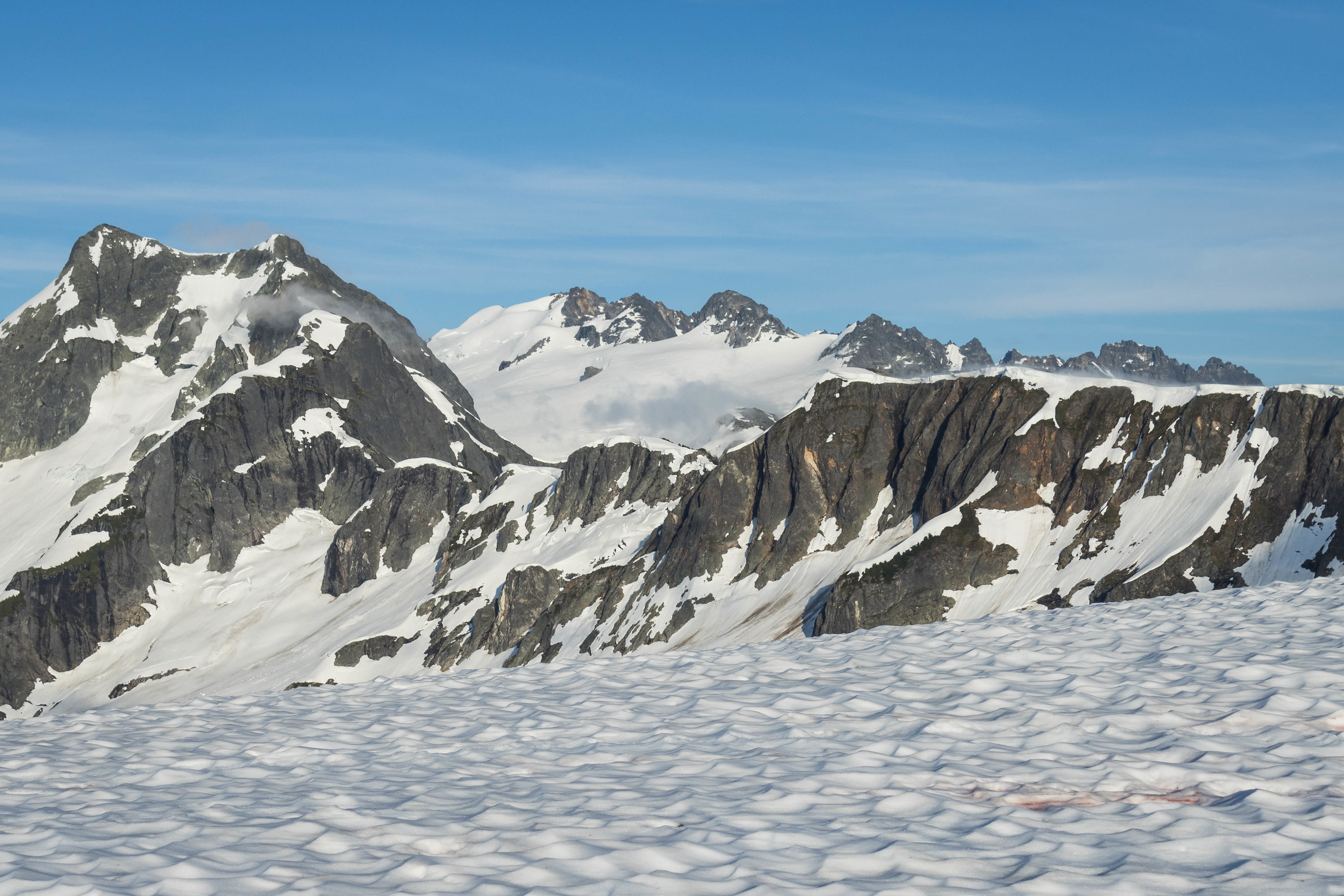 Seeing Mount Challenger from Easy Ridge