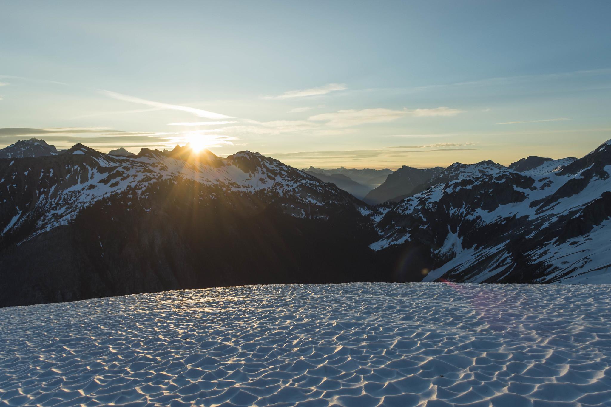 Sunrise on Easy Ridge